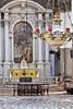 Chapel at the Basilica di Santa Maria della Salute, Venice, Italy