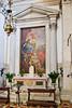 The Virgin and Child with Saints by Sebastiano Ricci, the Basilica di San Giorgio Maggiore, Venice, Italy