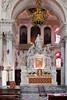 Altar at the Basilica di Santa Maria della Salute, Venice, Italy