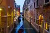 Evening canal scene, Venice, Italy