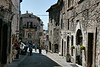 Assisi's streets were all filled with architectural character and charm