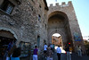 Entrance to Medieval fortress city of Assisi, Italy