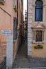 Another cozy but vital street in Venice.