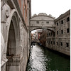 The Bridge of Sighs between the Doge's Palace and a prison. Prisoners sighed a lot here I guess.