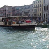 A view while cruising along the canal in Venice, Italy.