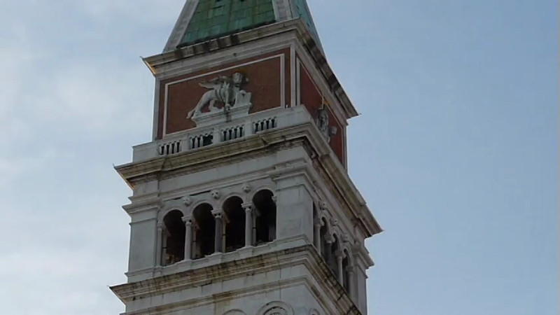 The St Mark Square in Venice, Italy.
