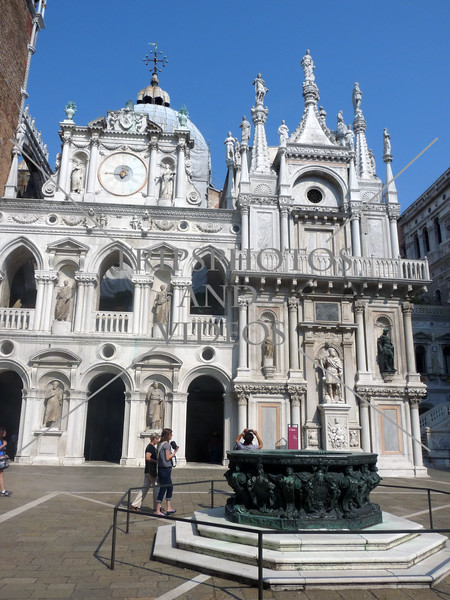 Doge's Palace (Palazzo Ducale) in Venice, Italy.