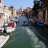 Canal view in Venice, Italy.