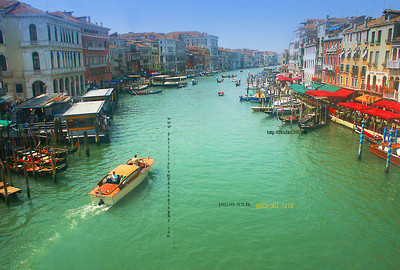 Cruise down a Venice waterway