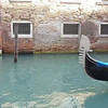 A gondola ride along the canal in Venice, Italy.