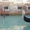 A gondola ride along the canal in Venice, Italy.