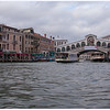 The Grand Canal and the Rialto Bridge, not all that far from our hotel.