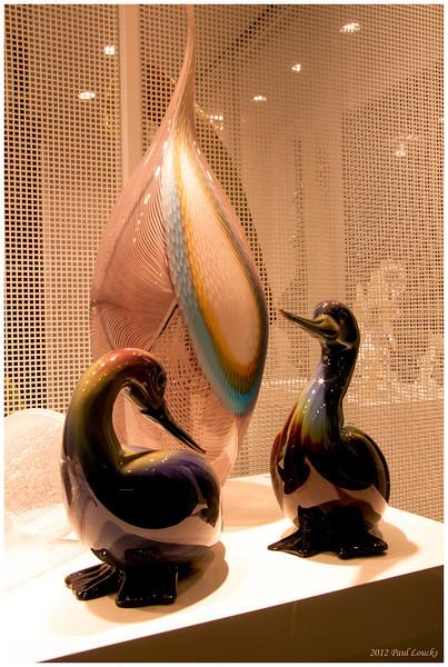 Murano glass.