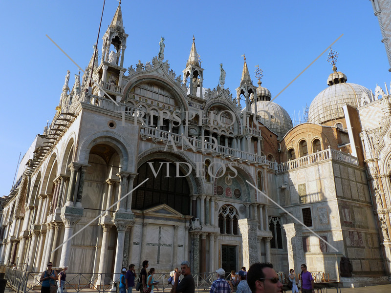 Patriarchal Cathedral Basilica of Saint Mark in Venice, Italy.