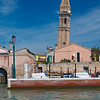 Leaning tower of Murano