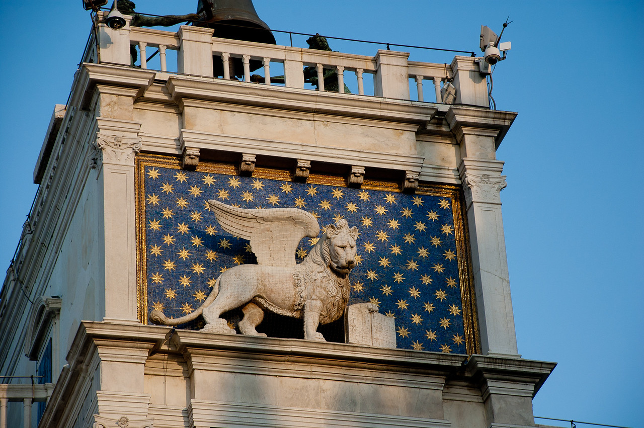 I never get tired of spotting the Lion of Saint Mark.  They are all over Venice and they are all over the Adriatic.  We encountered many along the coast of Croatia, land ruled by the Venetians until Napoleon gave them a slap-down around 1800.