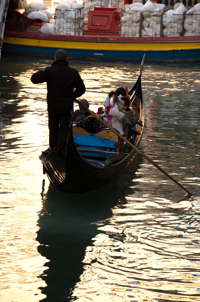 Observational evidence suggests the gondola business model now relies largely on a Chinese clientele.