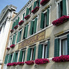 Flowers in windows 2 of Venice