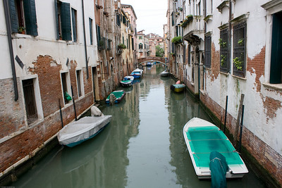 Venice - a side canal