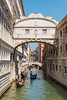 Bridge of Sighs<br /> Venice, Italy<br /> Venice, capital of northern Italy's Veneto region, is built on more than 100 small islands in a marshy lagoon in the Adriatic Sea. Its stone palaces seemingly rise out of the water. There are no cars or roadways, just canals and boats. The Grand Canal snakes through the city, which is filled with innumerable narrow, mazelike alleys and small squares.