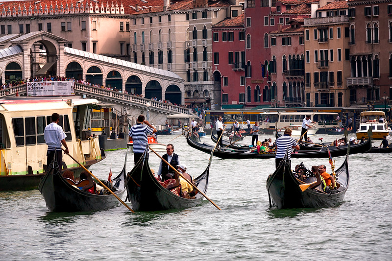 Grand Canal Traffic