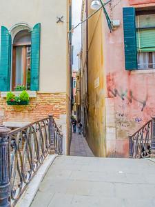 Narrow 'street'