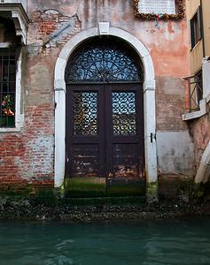 Door at Low Tide in Venice