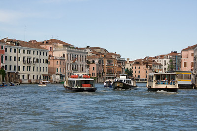 Cruising down the grand canal