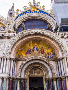 Detail from Basilica di San Marco