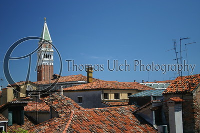 The rooftops of Venice, Italy