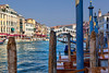 Looking back-- the Grand Canal and Ponte di Rialto in early afternoon.