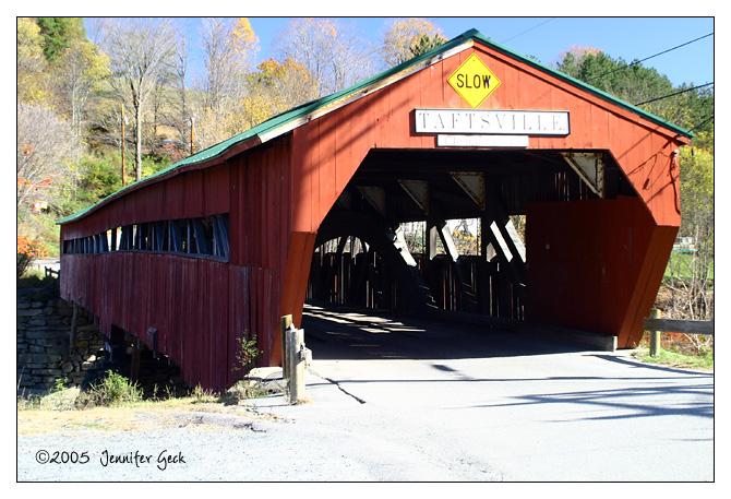 Covered Bridge<br /> Taftsville, VT