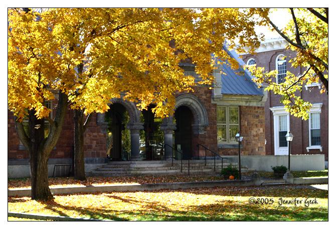 Library<br /> Woodstock, VT