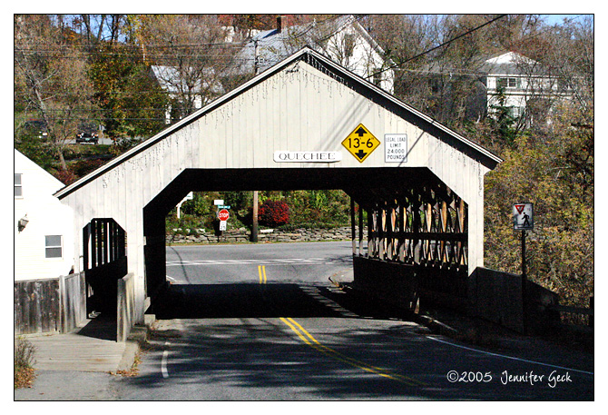 Covered Bridge<br /> Quechee, VT