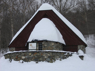 Mt. Chapel on the Toll Road ski path