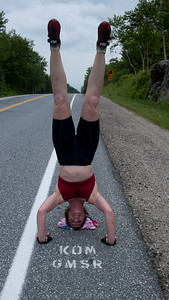 Brandon Gap is a good place to do a headstand.
