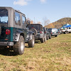 Vehicles line up for a workshop with Garrett Porterfield of Overland Experts and Mike Hussley, the 1993 Camel Trophy winner.  I highly recommend this for those just starting out.