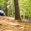 Here Tony and Susan Peirce maneuvers their fairly stock Nissan Xterra through the course.  This gave all of us a great opportunity to see how helpful spotters and trail assistants can be