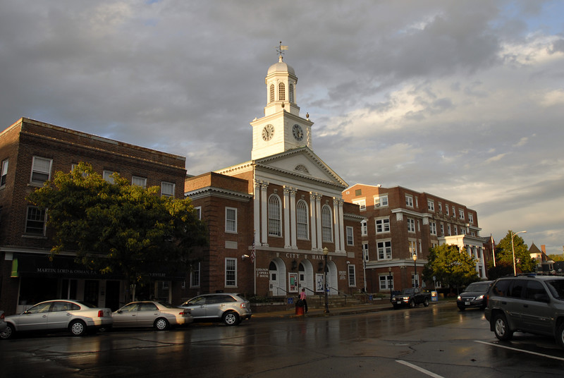 City hall in Lebanon, Vermont.
