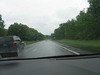 Somewhere on the interstate in New Hampshire or Vermont. I was bored. It rained the entire way. No traffic!