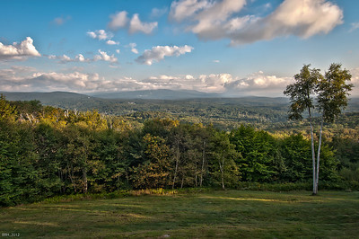 View From the Deck of the Haines Residence towards Bromley Mountain  Sept 2012