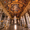 """The Hall of Mirrors is the most famous room in the opulent Palace of Versailles (or the Château de Versailles) in the Île-de-France region of France.<br /> <br /> Read more: <a href=""""http://www.travelcaffeine.com/versailles-hall-of-mirrors-hdr/"""">http://www.travelcaffeine.com/versailles-hall-of-mirrors-hdr/</a>"""
