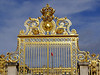 Palace gates of Versailles