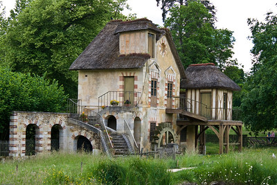 Cottage at Marie Antoinette's village