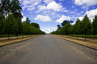 On our way to the Grand Trianon