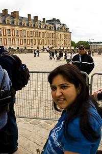 Deepu at Versailles