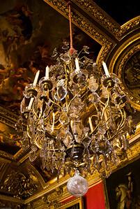 Chandelier at Versailles
