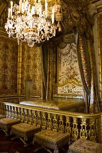 Louis XVI's official bedroom
