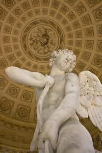 Cupid's statue