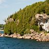 Cliffs along Lake Champlain
